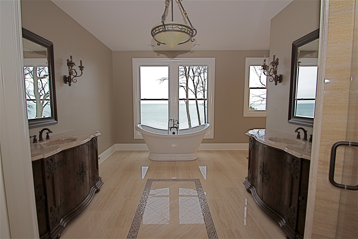 Lake Dr master bath