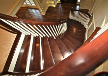 Coui Circular stair 220x154 - Couillard Circular stair from top